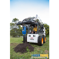 AUGER TORQUE SKID STEER PACKAGE - EARTHDRILL 3000MAX + UNI FRAME + 300MM AUGER  image
