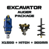 AUGER TORQUE - EARTHDRILL X1500 + 300MM AUGER PACKAGE image