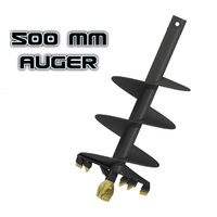 "Auger Torque S4 - 500mm / 20"" Auger- 65MM Round to suit Earthdrill & Auger Drive image"